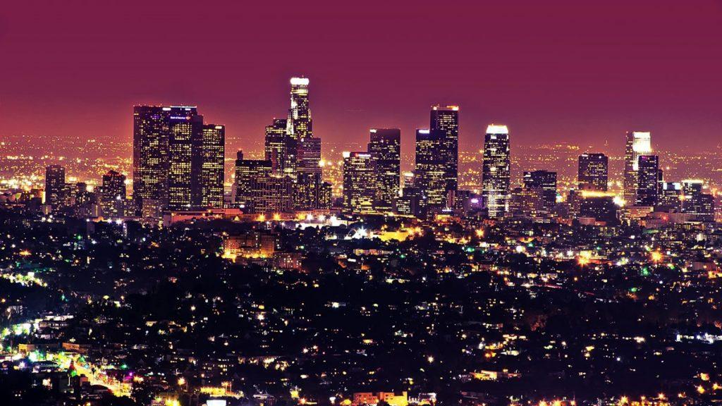 California backdrop